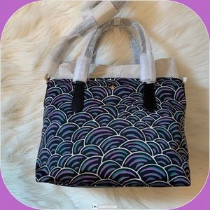 Kate Spade Crossbody Tote Taylor Party Bubbles NWT